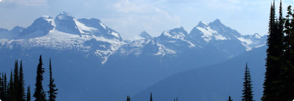 Mountains in British Columbia